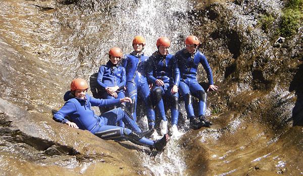 Canyoning - Alpinschule Firn Sepp - Mauterndorf