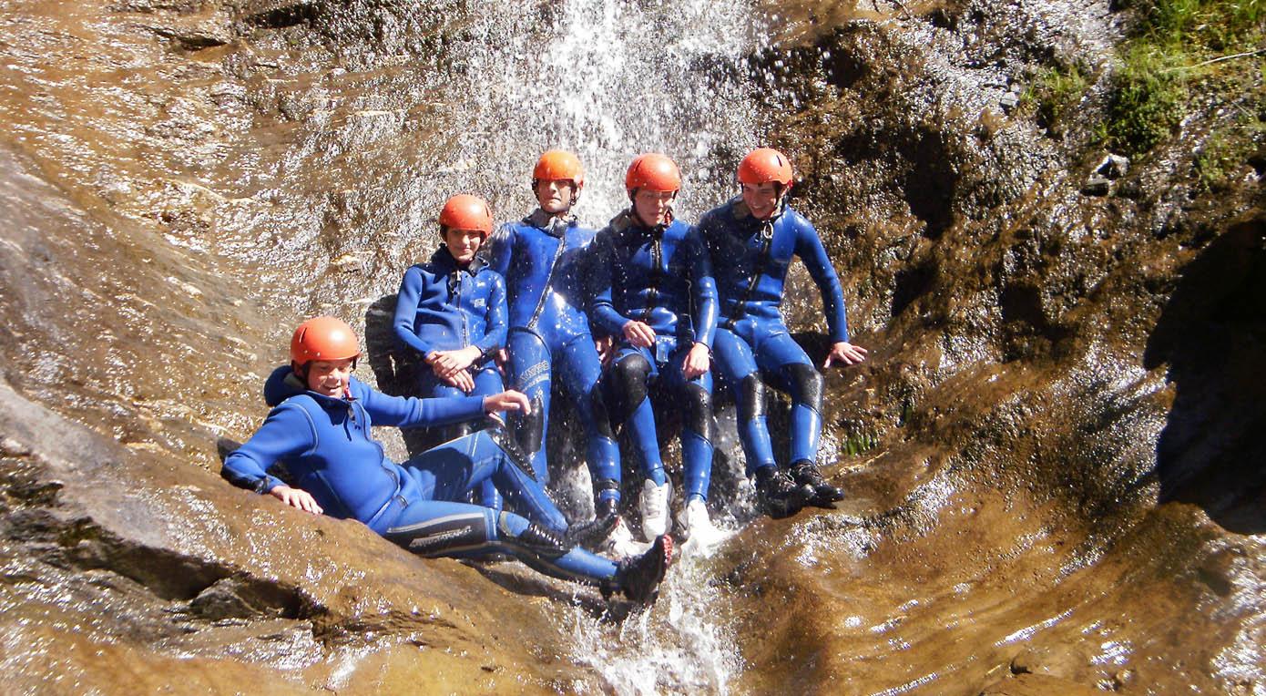 Rafting Alpinschule Mauterndorf Lungau Firn Sepp