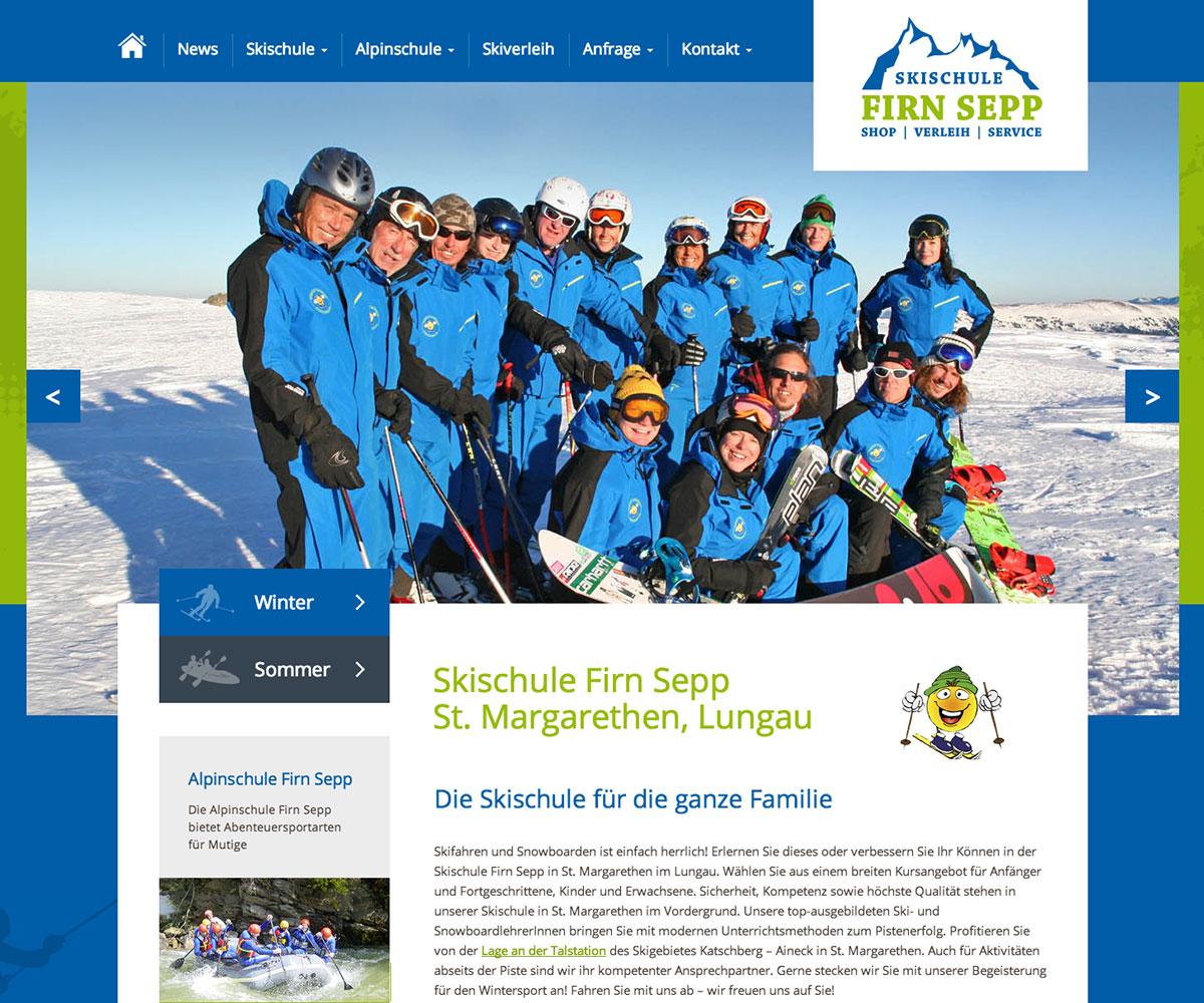 Alpin- und Skischule Firn Sepp - News