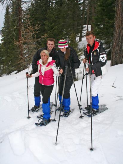 Alpinschule - Firn Sepp - St. Margarethen - Lungau - Schneeschuhwandern