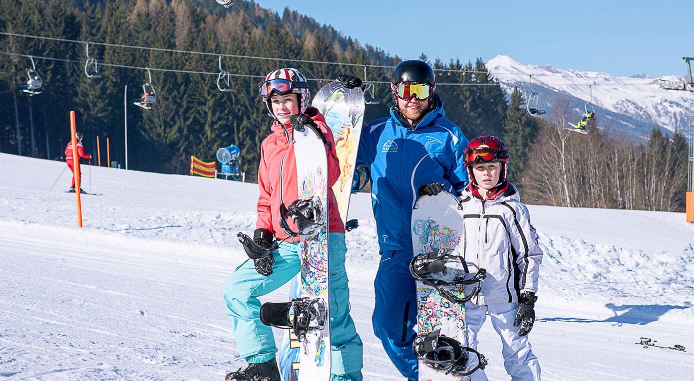 Skischule - Firn Sepp - St. Margarethen - Snowboardkurs