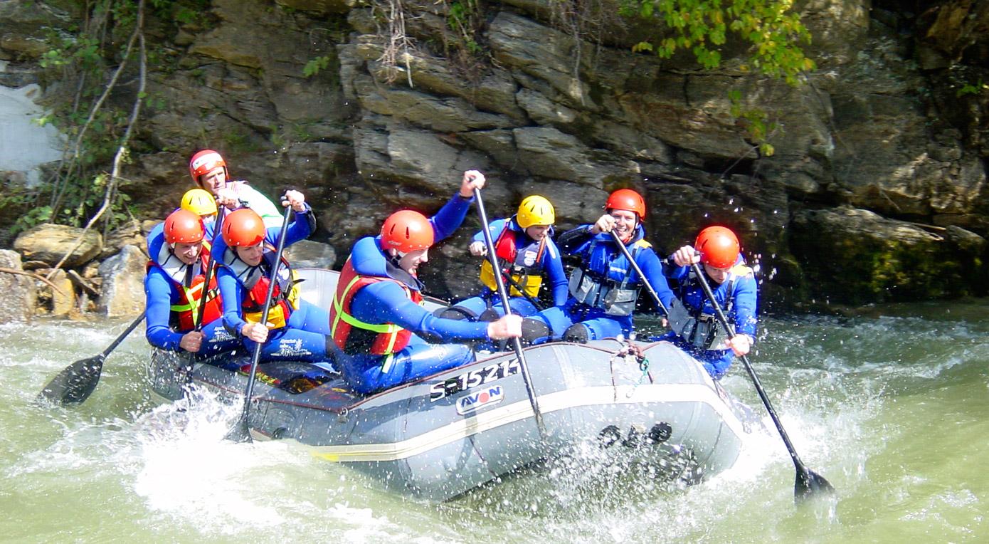 Alpinschule - Firn Sepp - Mauterndorf - Lungau - Rafting